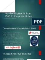 key developments from 1960 to the present day
