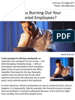 Are You Burning Out Your Salaried Employees?
