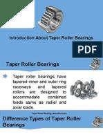 'DEC' Brand Taper Roller Bearings - Dynamic Bearings