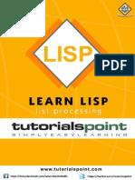 Lisp Tutorial