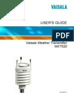 Vaisala MXT520 Weather Sensor