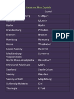 german states and their capitals  1