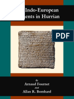 Fournet & Bomhard - The Indo-European Elements in Hurrian (2010)