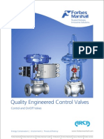 Control & on-Off Valve - Forbes Marshall