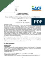 Guinée - TDR eval finale externe