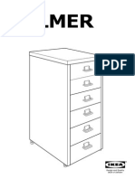 Helmer Drawer Unit on Castors AA 211429 9 Pub
