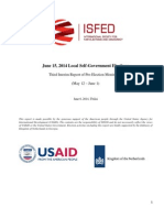ISFED 3rd Interim Report of Pre-Election Monitoring