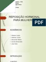 Reposição hormonal - Estrogênio.pptx