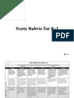 6 1 writting rubric