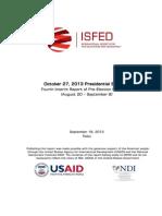 Fourt Interim Report ISFED