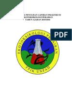 Format Laporan Praktikum Ekotoksikologi 2015 2016
