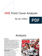 NME Front Cover Analysis
