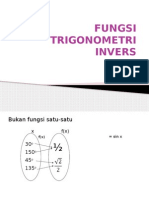 Fungsi Trigonometri Invers