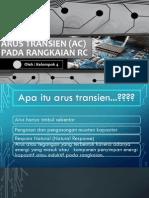 Arus Transien (Ac) Pada Rangkaian Rc