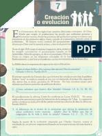 Lección 7, Creacion o Evolucion