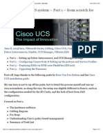 Deploy a Cisco UCS System – Part 1 – From Scratch for VMware ESXi