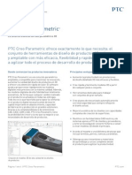 PTC Creo Parametric Data Sheet
