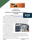 HeatKills Press Release - Seed Capital Fundraising Campaign 09Nov15