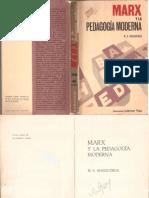 Manacorda - Marx y La Pedagogía Moderna