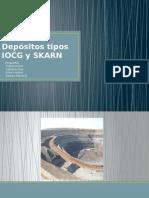 Depósitos Tipos IOCG y SKARN