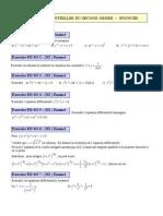 Equations Différentielles du Second Ordre
