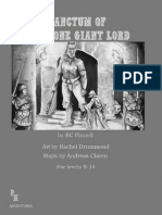 G4 - Sanctum of the Stone Giant Lord, Lvl 9-14