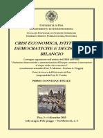 Convegno PRIN Tarchi - 3-4 Dicembre 2015