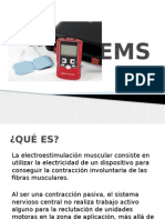 EMS - Electroterapia