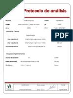 Protocolo de Analisis Etil Silicato IZ 102
