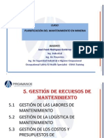 Diapositivas Planificacion Del Mantenimiento II Jose Rodriguez