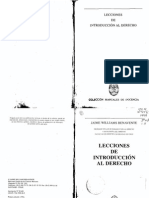 Lecciones de Introduccion Al Derecho Jaime Williams Benavente 1 (1)