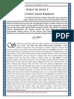 Maktubat Imam Rabbani - Jilid 2