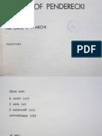 Penderecki - Capriccio Per Oboe e 11 Archi