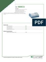 Comelit 4888CU Data Sheet