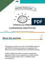 PMBOK vs Prince2 Comapred