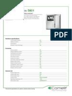 Comelit 5801 Data Sheet
