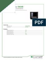 Comelit 5900B Data Sheet