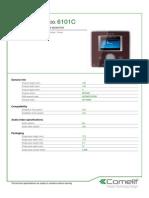 Comelit 6101C Data Sheet