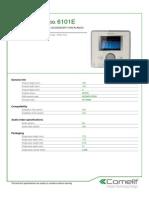 Comelit 6101E Data Sheet