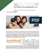 Tu Blog Tecnológico - Iniciando a los niños en la programación con Scratch