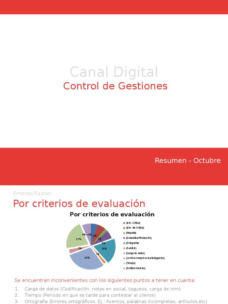Canal Digital Octubre