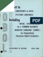 COBOL Report Apr60 Text