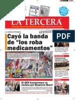 Diario La Tercera 09.11.2015