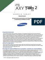 GT-P3113 Spanish User Manual LH2 F1