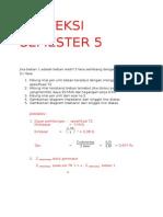 Contoh Soal Proteksi Semester 5