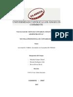 Contabilidad de Sociedades - III Unidad Tarea 02