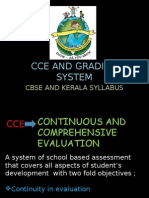 CCE and Grading System
