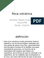 Roca Volcánica Rayen Auquilen 8ºB
