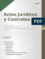 Actos Jurídicos y Contratos