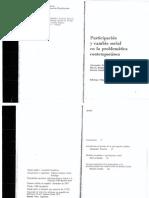 Participación y Cambio Social - Pizzorno